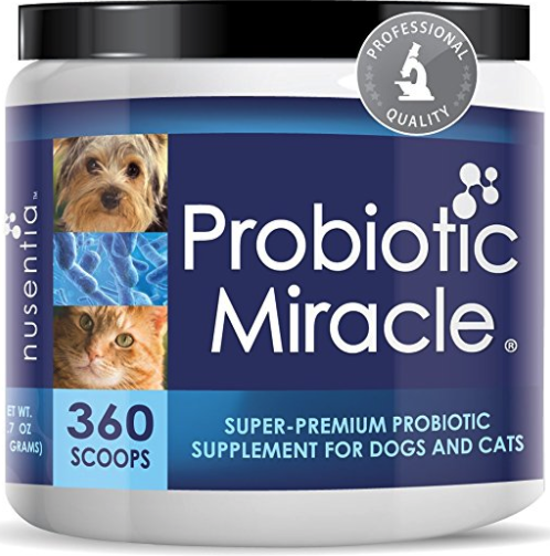 Nusentia Probiotic Miracle for dogs