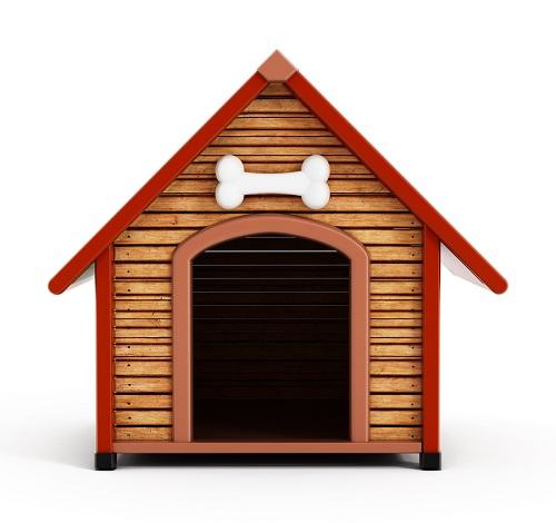 6 easy steps to build your own dog house. Black Bedroom Furniture Sets. Home Design Ideas