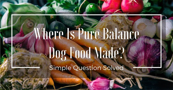 Do You Know Where Is Pure Balance Dog Food Made See 2018