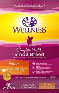 Product photo: Wellness Complete Health Small Breed Dry Puppy Food - Check price on Amazon.