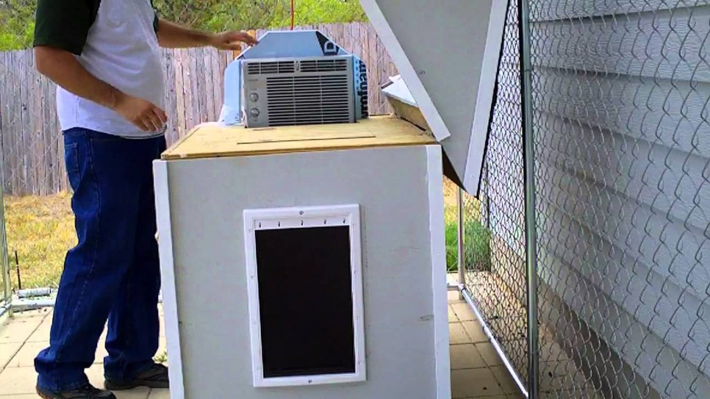 customized dog house with dog house heater